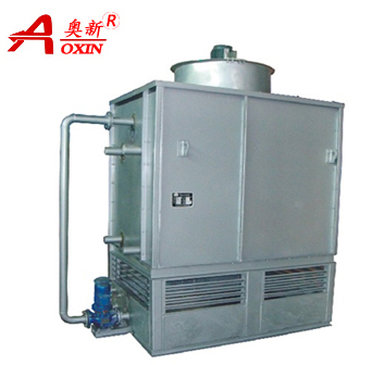 ZNX Elliptical tube evaporative condenser